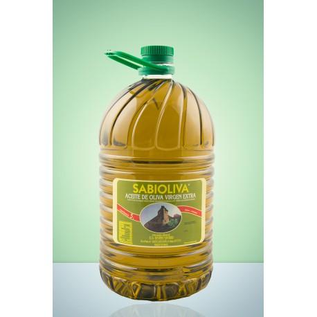 Pack 3 Botellas (PET) Aceite de Oliva Virgen Extra 5 litros