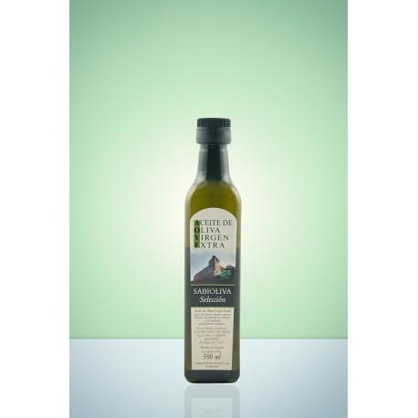 Botella Esmeralda Aceite de Oliva Virgen Extra  500 ml