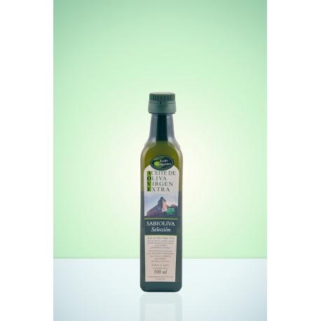 Botella Esmeralda Aceite de Oliva Virgen Extra Verde Temprano 500 ml