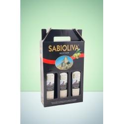 Estuche 3 Botellas Selección Aceite de Oliva Virgen Extra 500 ml